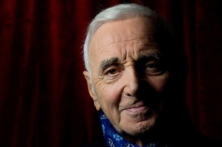 7794779357 le chanteur charles aznavour en septembre 2015