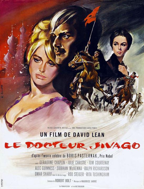 Affiche film docteur jivago