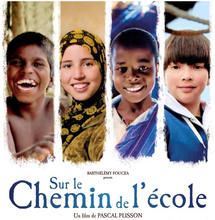 """Le film """"Sur le chemin de l'école"""" raconte..."""