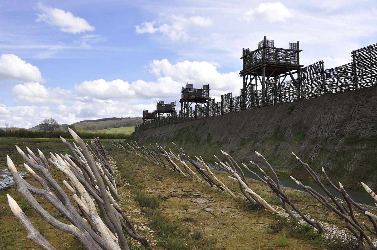 Les fortifications à Alésia