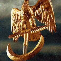 L'aquila (aigle), symbole de légion romaine