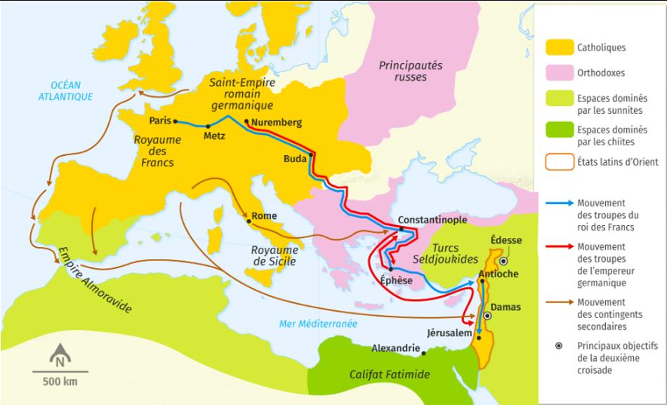 Carte 2e croisade