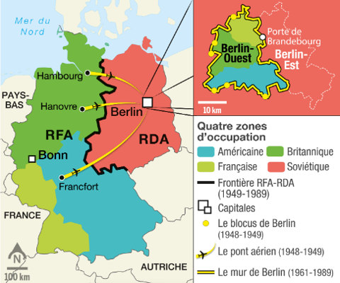 Carte berlin guerre froide 2