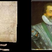 Situez dans le temps l'édit de Nantes : loi royale de tolérance signée par Henri IV, où il reconnaît la liberté de culte aux protestants. Cet édit mit fin aux guerres civiles religieuses qui ont ravagé le royaume de France.