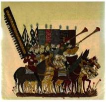 Situez dans le temps l'Hégire : la fuite du prophète Mahomet de la Mecque à Médine et le début du calendrier musulman