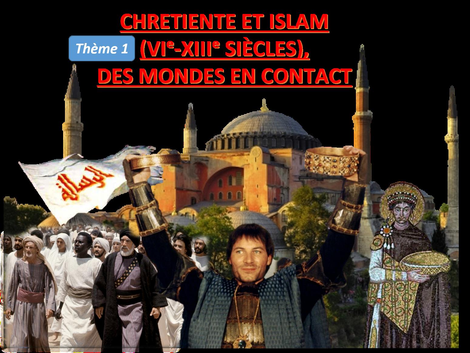 Image titre chretientie et islam