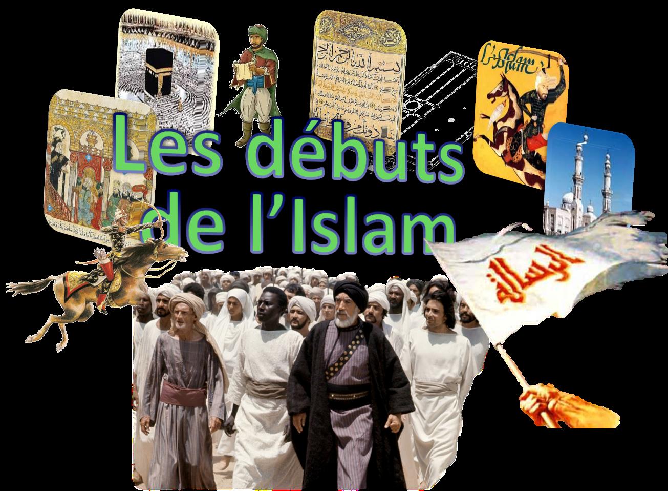 Image titre debuts de l islam buiraym