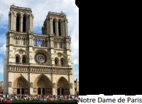 Situez dans le temps l'âge des églises gothiques (style architectural)