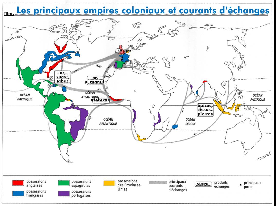 Planisphere colonies