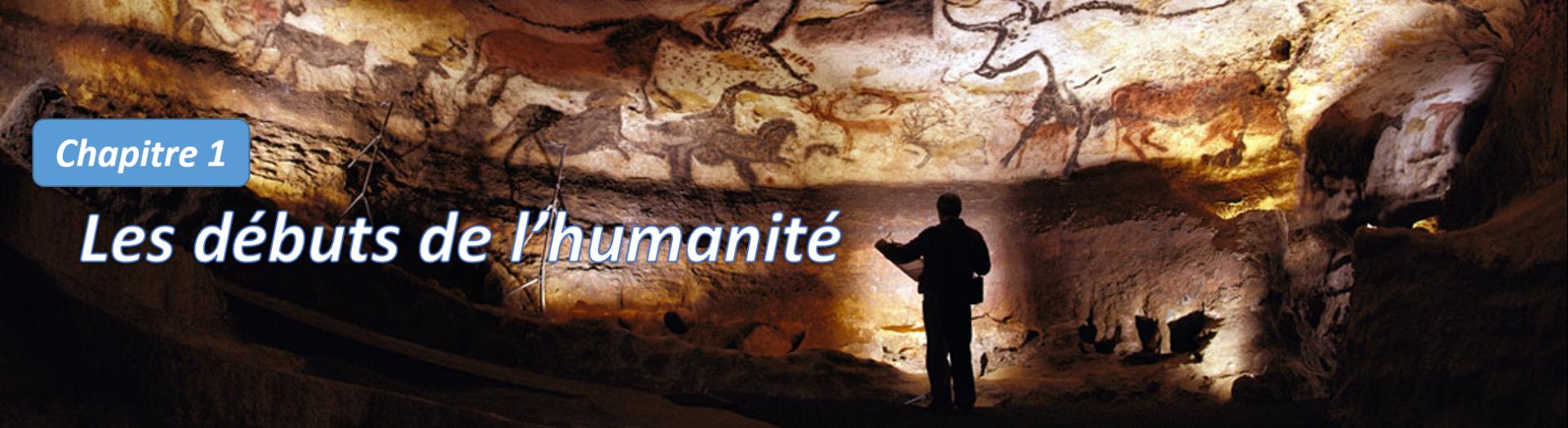 Titre debut humanite site clio