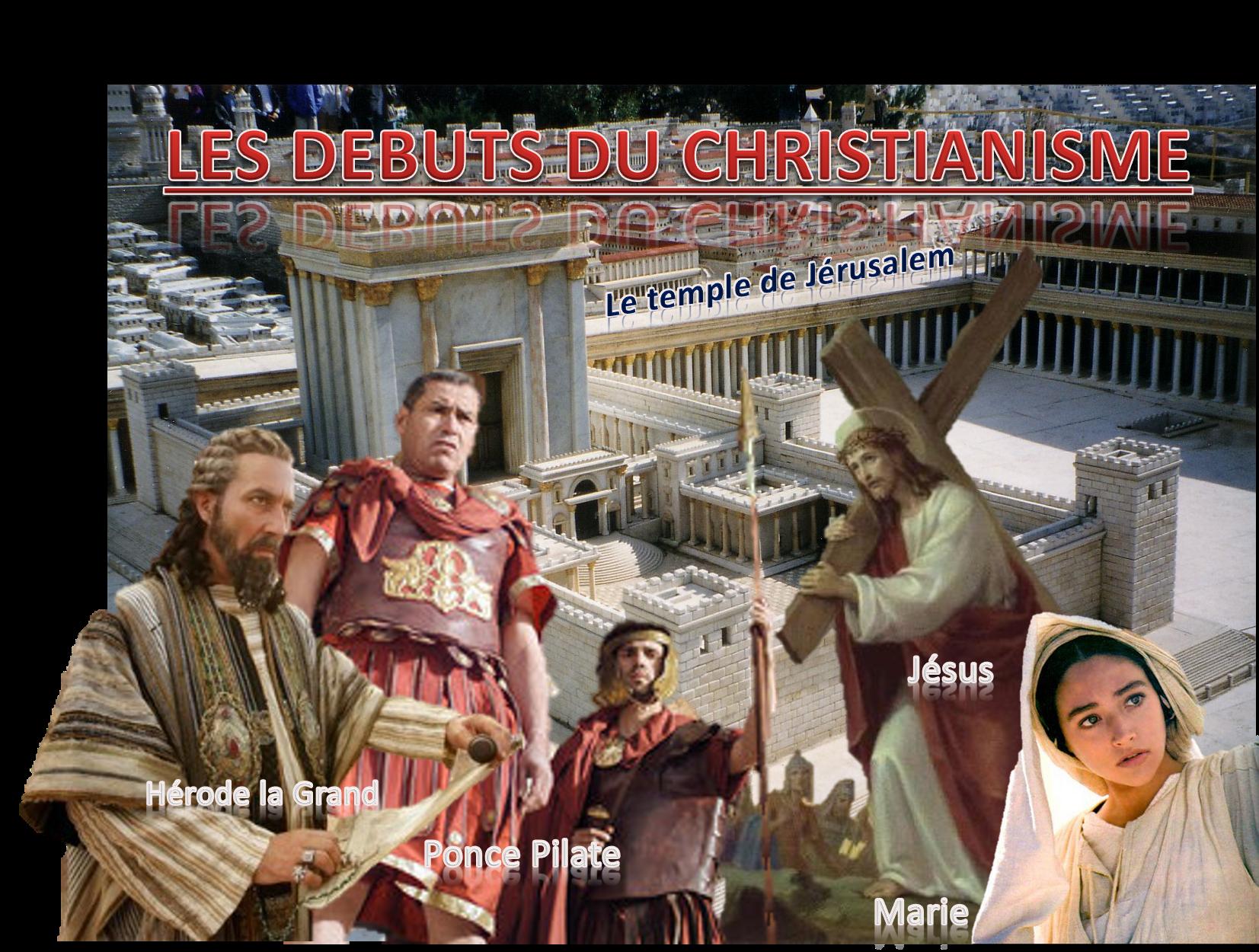 Titre les debuts du christianisme