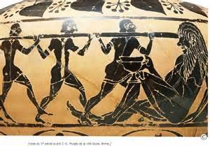 Quel épisode de l'Iliade est décrit sur ce vase ancien ?