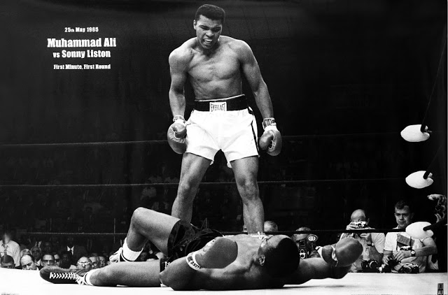 Muhammad ali vs sonny liston lewiston maine 1965